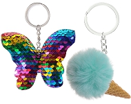 www.snowfall-beads.com - New summery key fobs