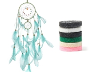 www.snowfall-beads.com - New perfume pads and dreamcatchers