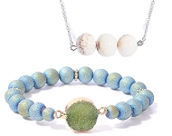 www.snowfall-beads.com - New jewelry with natural stone