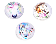www.snowfall-beads.com - New cabochons with horses and unicorns