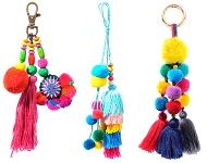 www.snowfall-beads.com - New Ibiza style key fobs