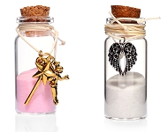 www.snowfall-beads.co.uk - New: wish bottles with jewelry