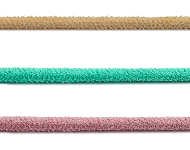 www.snowfall-beads.co.uk - New imitation suede cord