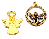 www.snowfall-beads.co.uk - New angel pendants