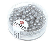 www.snowfall-beads.co.uk - New Rayher glass pearls