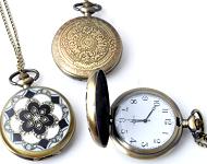 www.snowfall-beads.nl - Nieuwe horloge halskettingen