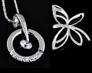 www.snowfall-beads.fr - Nouveaux pendentifs en argent 925