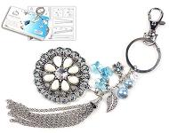 www.snowfall-beads.com - New DoubleBeads key fob jewelry kits