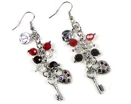 www.snowfall-beads.com - New DoubleBeads earring jewelry kits