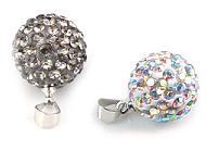 www.snowfall-beads.com - New strass pendants