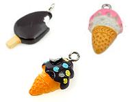 www.snowfall-beads.com - New ice cream pendants