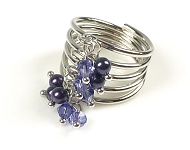 www.snowfall-beads.nl - Meer DoubleBeads ringen Mini sieradenpakketten