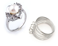www.snowfall-beads.nl - Nieuwe ringen met zoetwaterparel