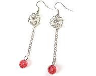 www.snowfall-beads.nl - Meer DoubleBeads oorbellen Mini sieradenpakketten
