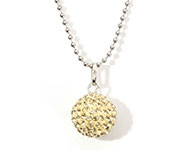 www.snowfall-fashion.com - New necklace with pendant bola