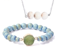 www.snowfall-fashion.com - New jewelry with natural stone