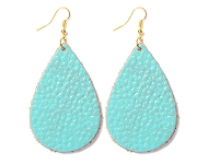 www.snowfall-fashion.com - New earrings with leather