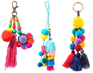 www.snowfall-fashion.com - New Ibiza style key fobs