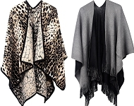 www.snowfall-fashion.be - Nieuw: open ponchos