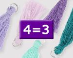 Geselecteerde kwastjes 4=3